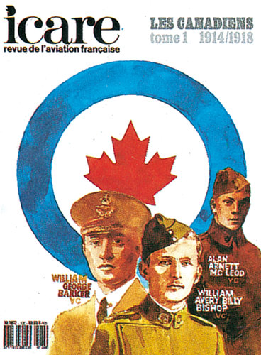 ICARE N°120, LES CANADIENS 1914/1918 TOME I