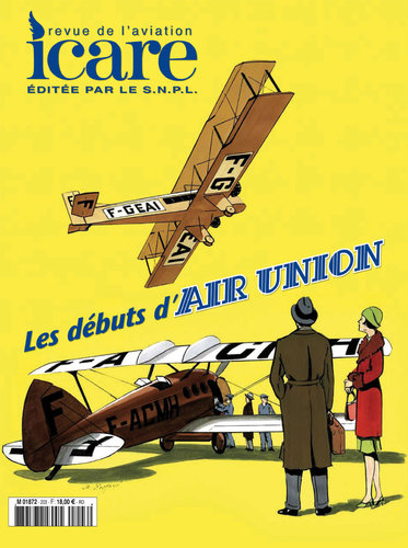 ICARE N°203, LES DEBUTS D'AIR UNION