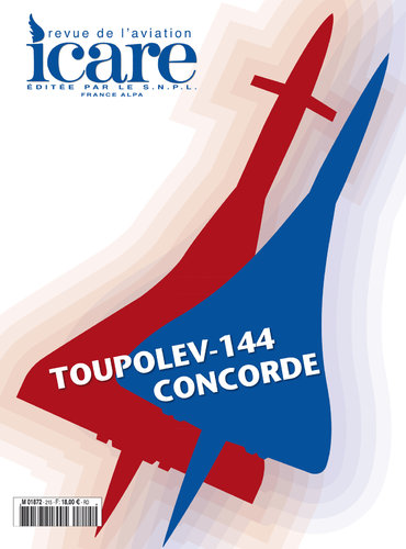 ICARE N°215, TOUPOLEV 144 - CONCORDE